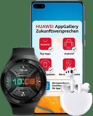 O2 Free M mit 20 GB + Huawei P40 für 44,99 €/Monat*